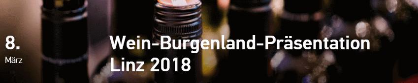 wein burgenland linz 2018